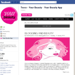 Tesco Your Beauty App – Blogging and Beauty