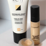 Custom Blend Concealer using Vichy Dermablend and Mac Pro Longwear