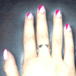 NOTD Two-Toned Pink
