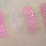 L&#8217;Oreal Rouge Caresse Swatches &#8211; The Pinks!