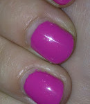 Shellac Manicure: Hot Pop Pink