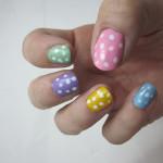 NOTD: Polka-Dot Pastels