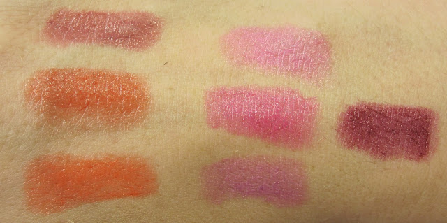 Revlon Just Bitten Kissable Balm Stains Swatches
