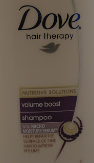Dove Damage Therapy Volume Boost Shampoo and Conditioner