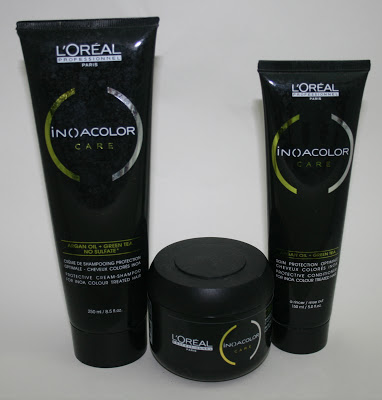 L'Oreal INOA Colour Care Shampoo, Conditioner and Masque