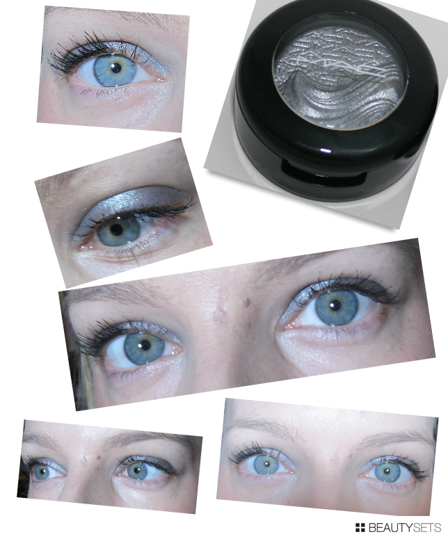 Mac Glamour Daze Evening Grey: On the Eyes