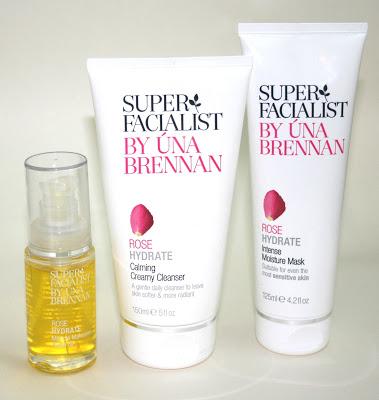 Una Brennan Superfacialist Rose Products: At Home Facial