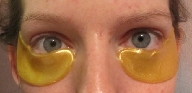 Jamela 24K Gold Under Eye Masks