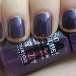 NOTD: Bourjois Purple Fiction