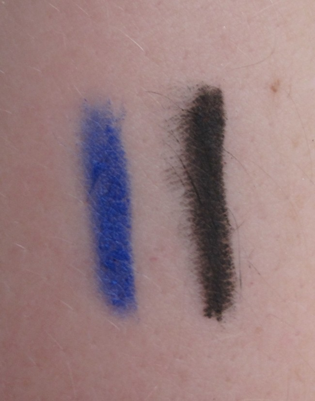 Kiko Vivid Eyes Kajak and Eyeliner Swatches