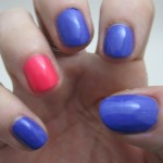 Models Own Ice Neon: Bubblegum and Pukka Purple Swatched