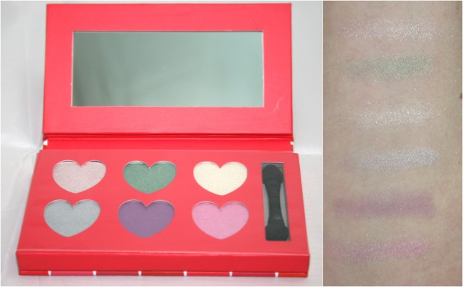 M&S Heart Shadow Palette