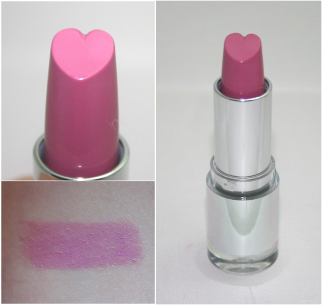M&S Heart Lipstick Light Pink