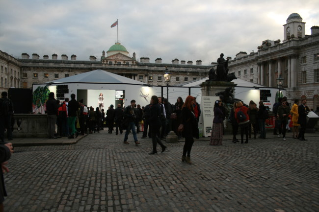 LFW AW13 Somerset House