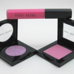 Bobbi Brown Lilac Rose Swatches (Pink Lily Lipgloss, Pastel Pink Blush and Lilac Rose Sparkle Eye Shadow)