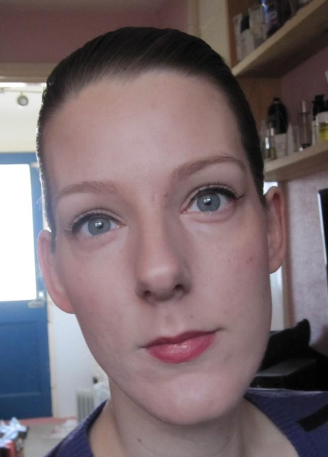 Full make-up!