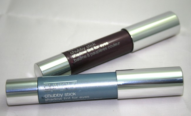 Clinique Chubby Eyes Portly Plum and Big Bl