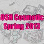 GOSH Cosmetics Spring 2013 with Swatches