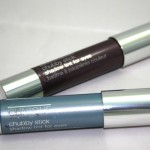 Clinique Chubby Stick Shadow Tint for Eyes: Portly Plum and Big Blue