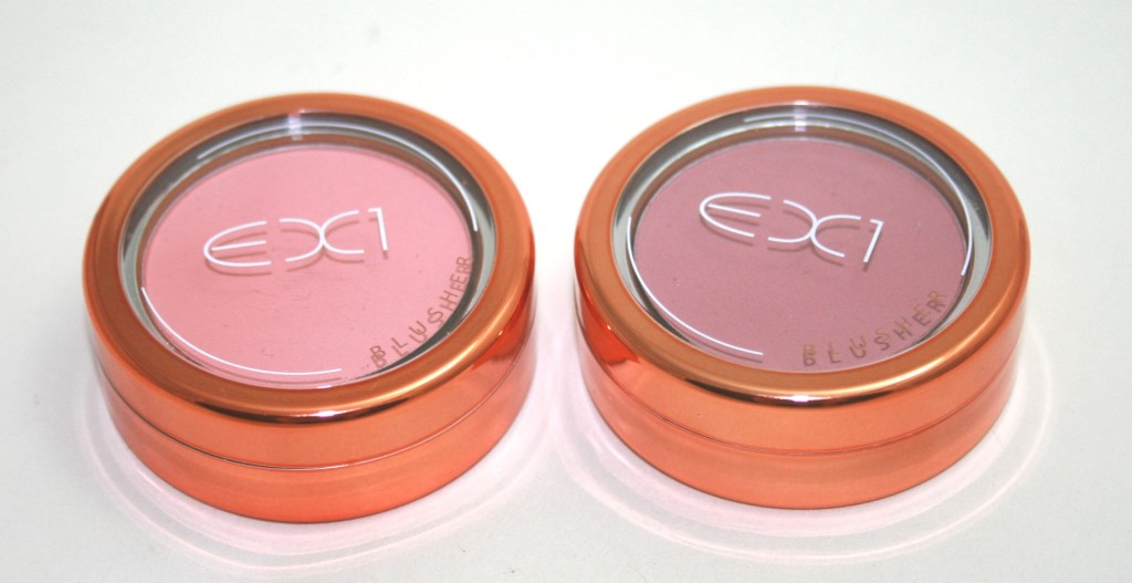 EX1 Blushers – Pretty in Peach and Natural Flush