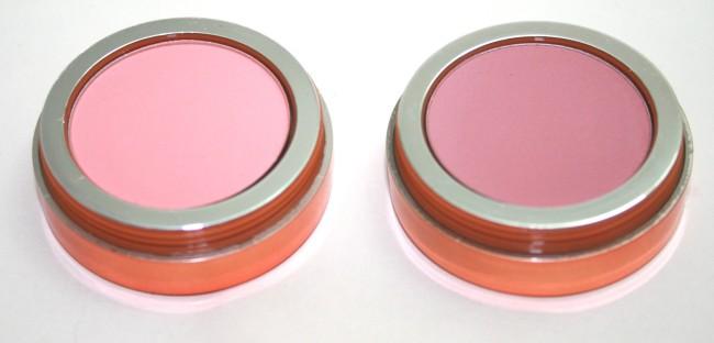 EX1 Blushers - Pretty in Peach and Natural Flush