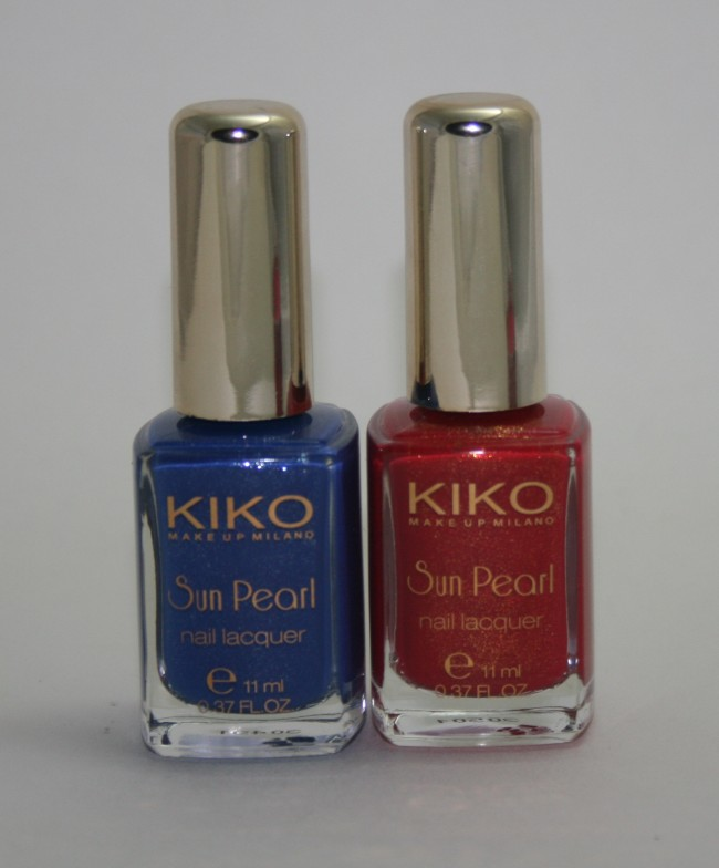 Kiko Fierce Spirit Sun Pearl Nail Lacquers