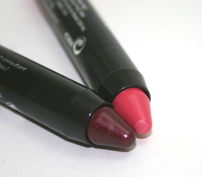 No7 High Shine Lip Crayons