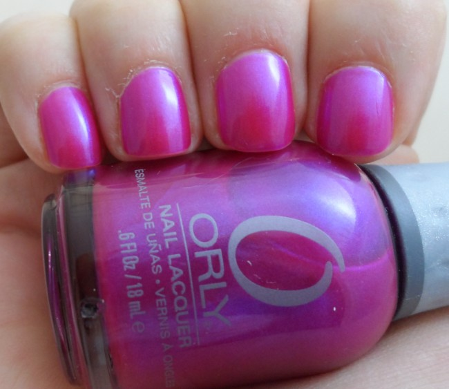 Orly Gorgeous Swatch
