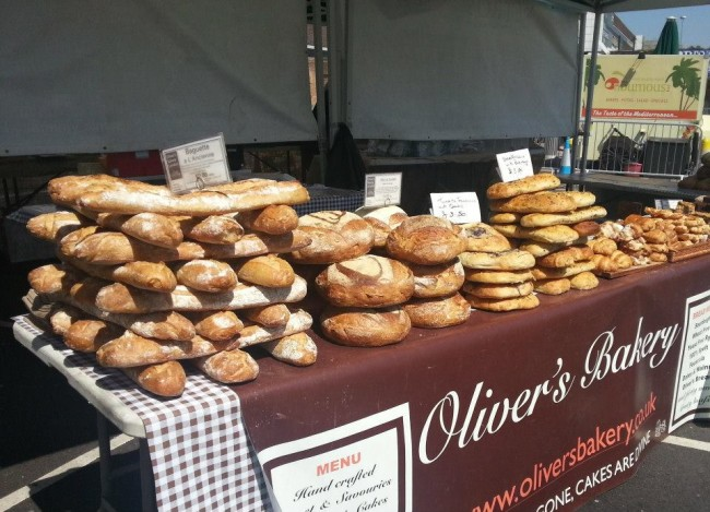 Brent Cross Food Market Bread