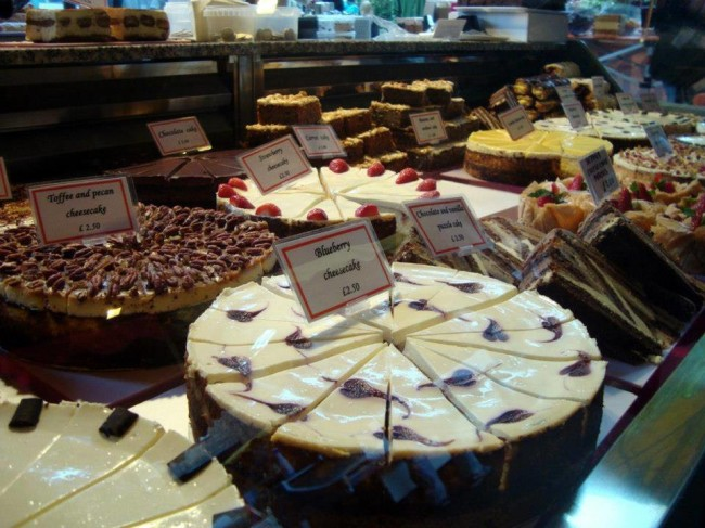 Brent Cross Food Market Cakes