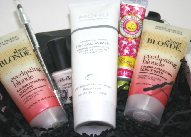 Glossybox June 2013 contents