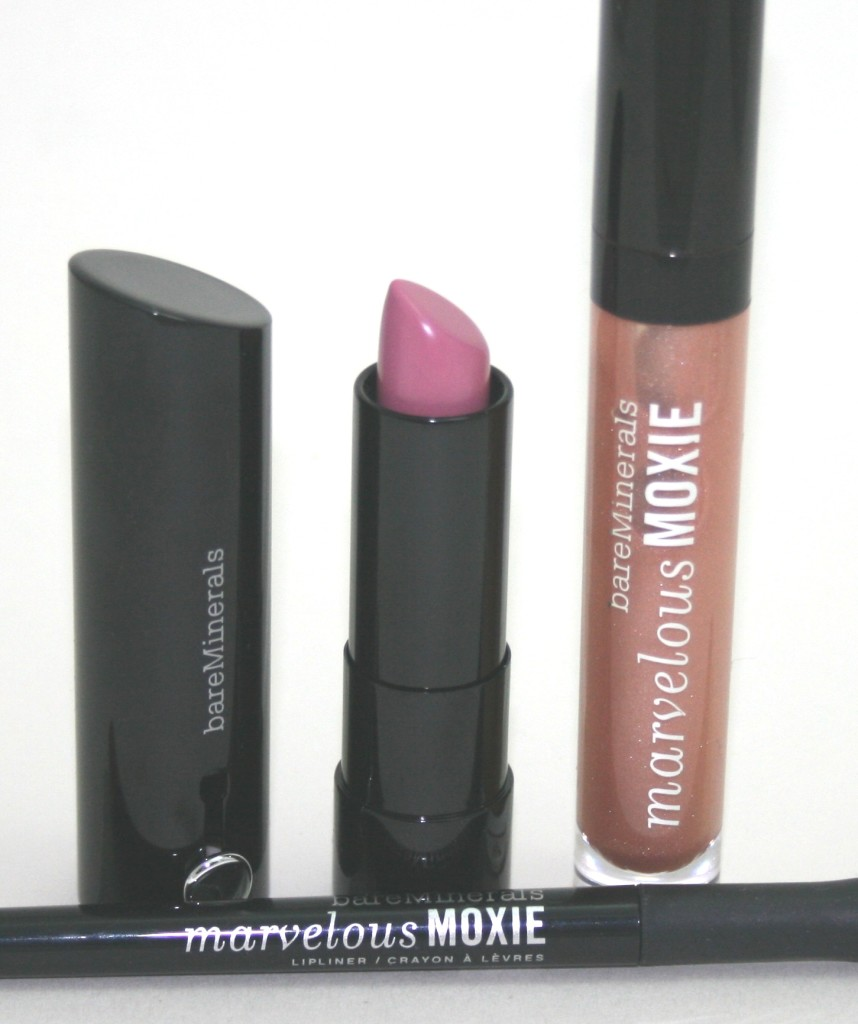 BareMinerals Marvelous Moxie New Lip Products