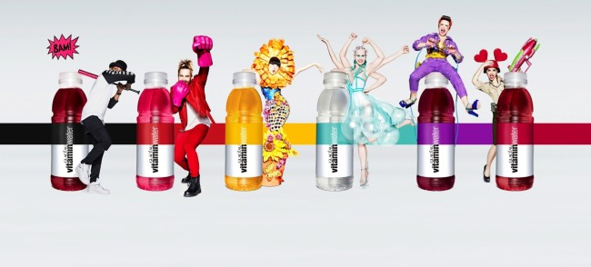 Off-Topic: Glaceau Vitamin Water Launch #ShineBright