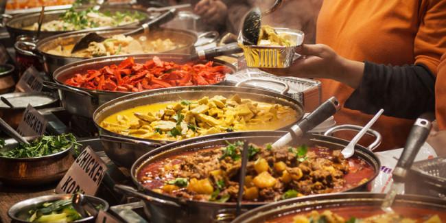 Brent Cross Food Market Indian