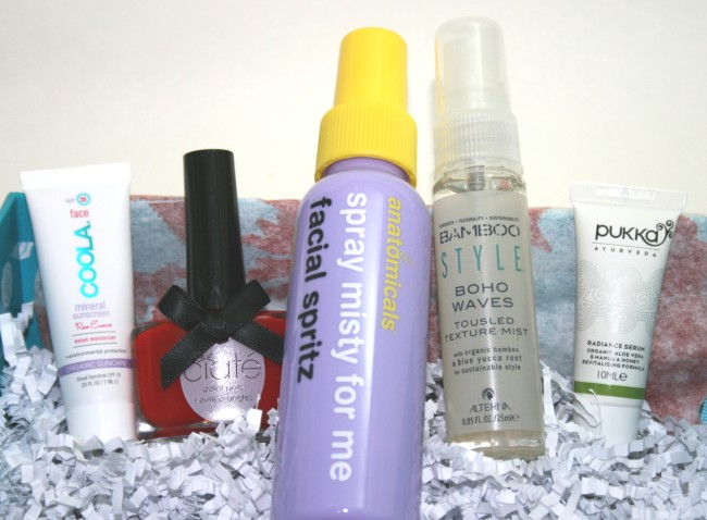Glossybox July 2013 Contents