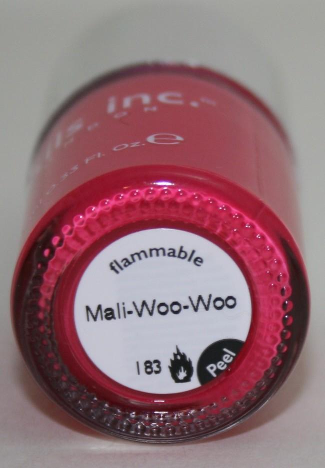 Mali-Woo-Woo bottle