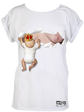 Wordless Wednesday: Royal Baby T-Shirt