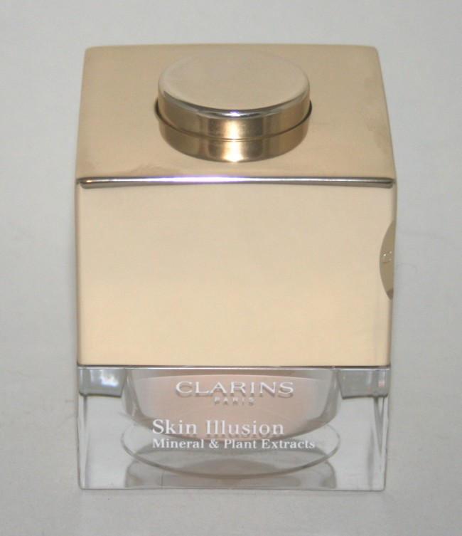 Clarins Skin Illusions Loose Powder Foundation packaging