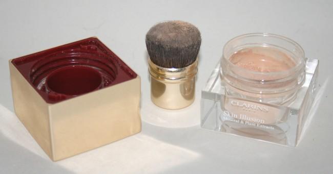 Clarins Skin Illusions Loose Powder Foundation Open
