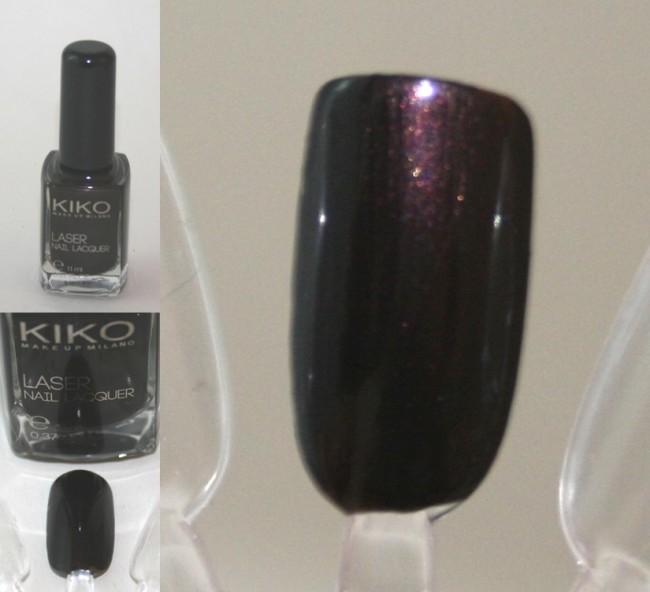 Kiko Dark Heroine Laser Polish