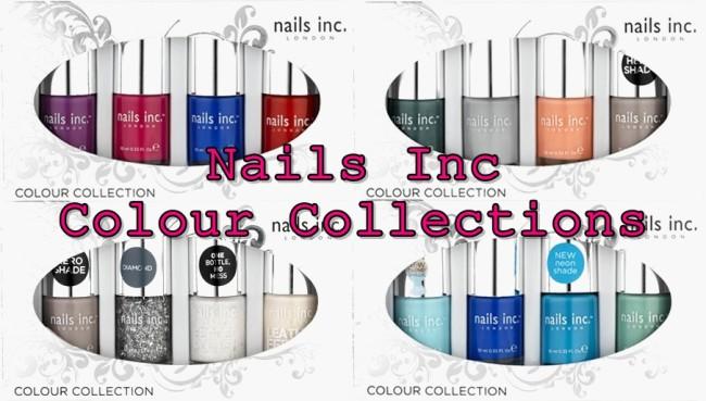 Nails Inc Colour Collections