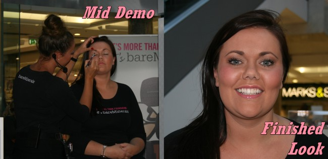 Bare Minerals Go Bare Tour Brent Cross Demo