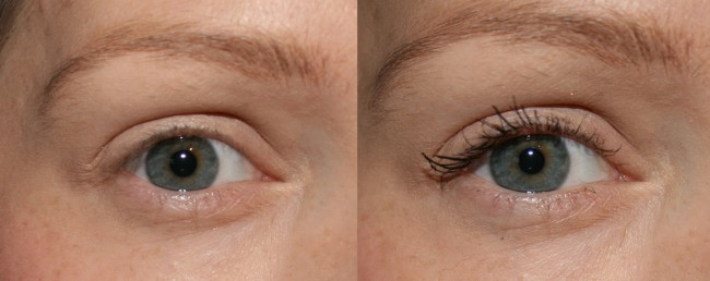 Bourjois Twist Up Mascara before and after