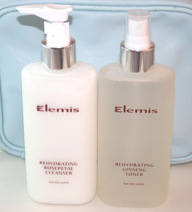 Your choice of cleanser and toner