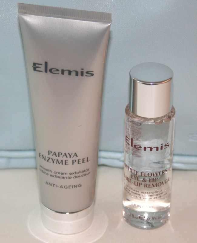 Papaya Enzyme Peel and White Flowers Eye and Lip Make-Up Remover