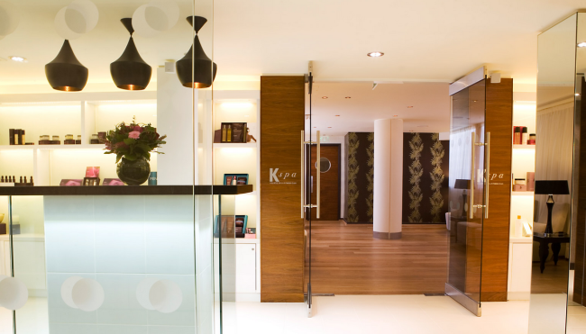 K Spa Main Reception