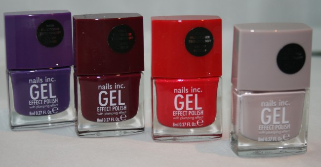 Nails Inc Gel Effect Polishes