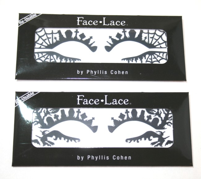 Halloween Face Lace