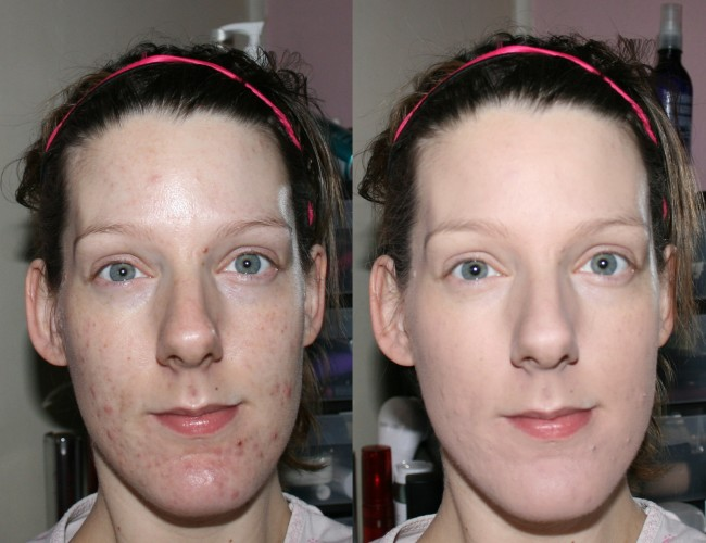 Pur Minerals 4in1 Before and After