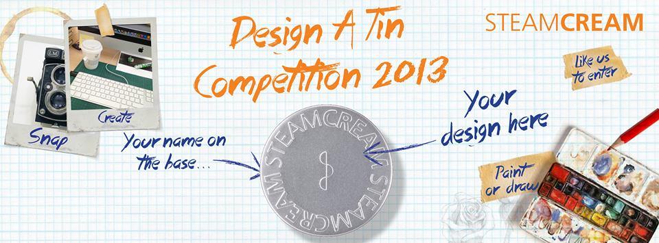 Steamcream Design a Tin Contest